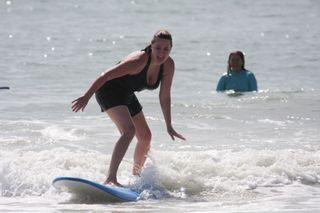 Lisa Surfing color up