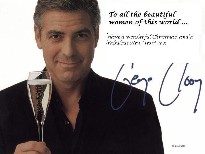 Blog Clooney xmas card