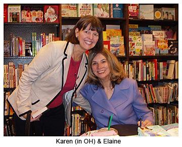 Karen & Elaine Viets 11-8-09