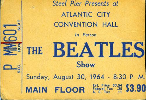 Beatle ticket