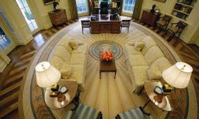 Bush oval office