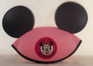 Pink mouse ears