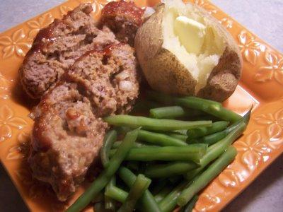 Turkey meatloaf 004