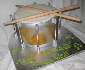Snare-drum-cake