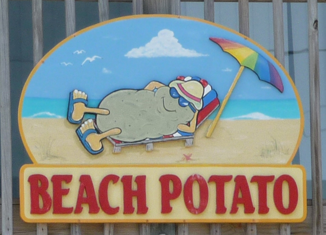 Beach potato