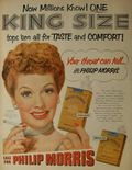 1950s PHILIP MORRIS Lucille Ball vintage cigarettes advertisement hollywood smoking