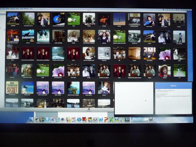 Iphoto desktop image