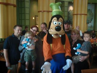 Family photo disney 2011